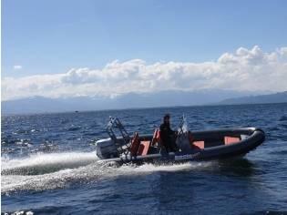 Patrol 600 in Serienausstattung ohne Motor