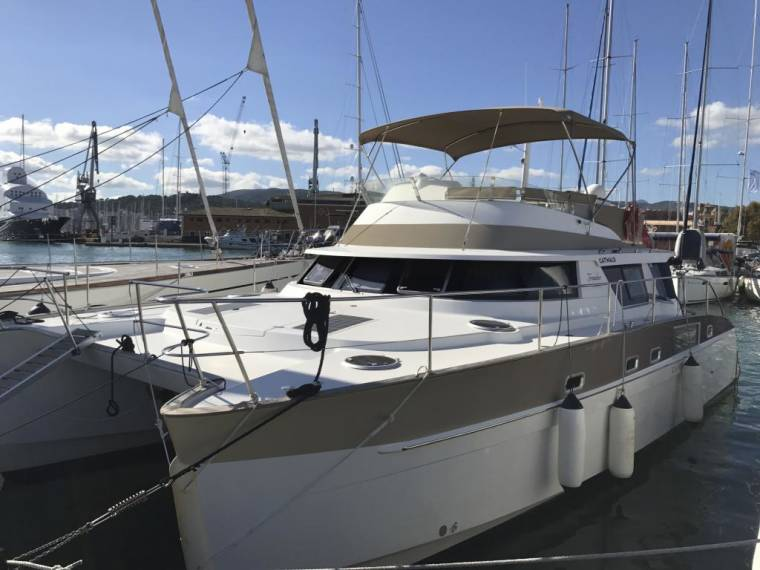 Cumberland 44 Quatour with new Volvo D6 engines