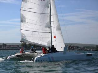 Racing Catamaran Alien