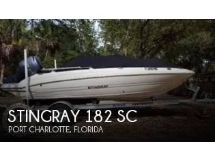 Stingray 182 SC Deck Boat