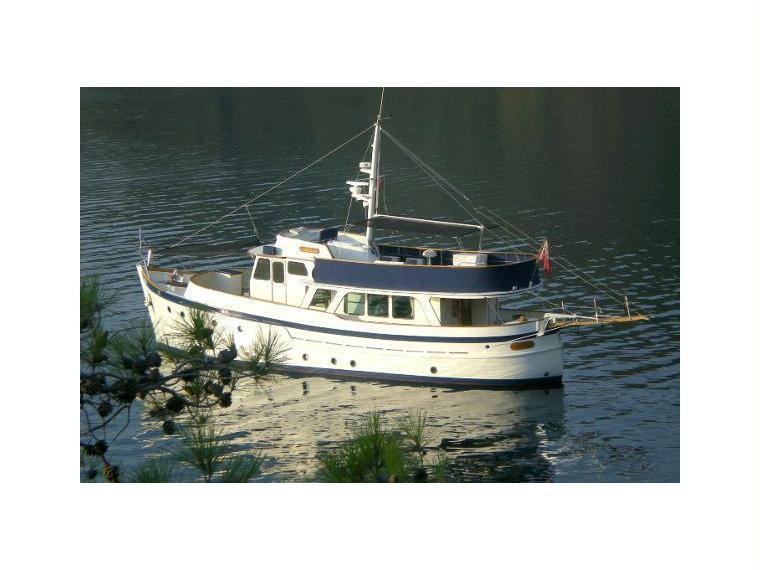 Ditzen shipyard william garden classic trawler in turkey for Garden design trawler boat