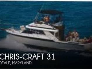 Chris-Craft 315 Commander