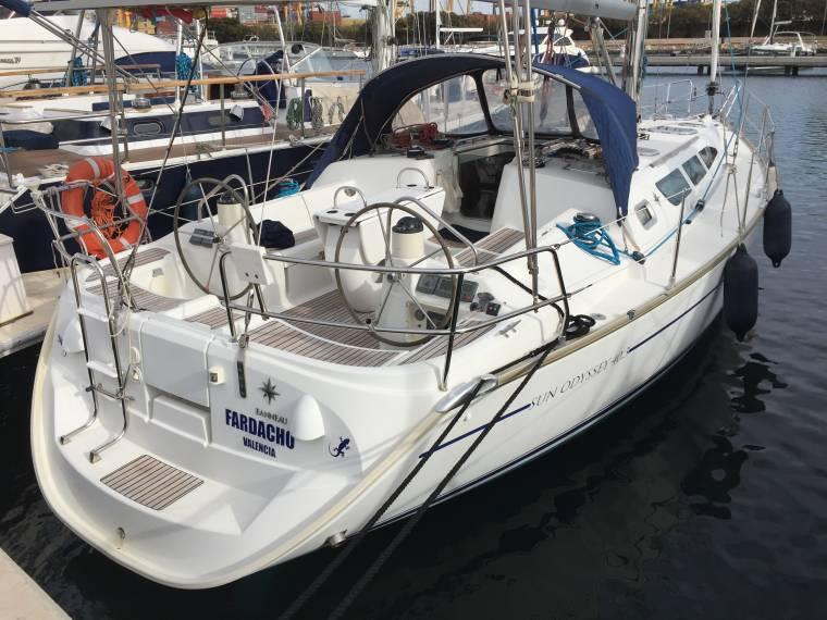 Jeanneau Sun Odyssey 40 3 In Rcn De Valencia Sailing Cruisers Used
