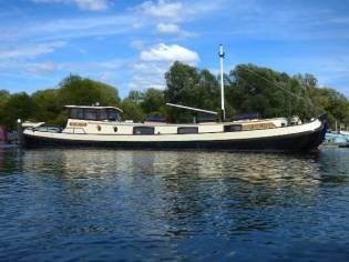 Barge Dutch Motor Tjalk