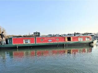 Wide Beam Narrowboat 60 x 11 Aqualine Canterbury