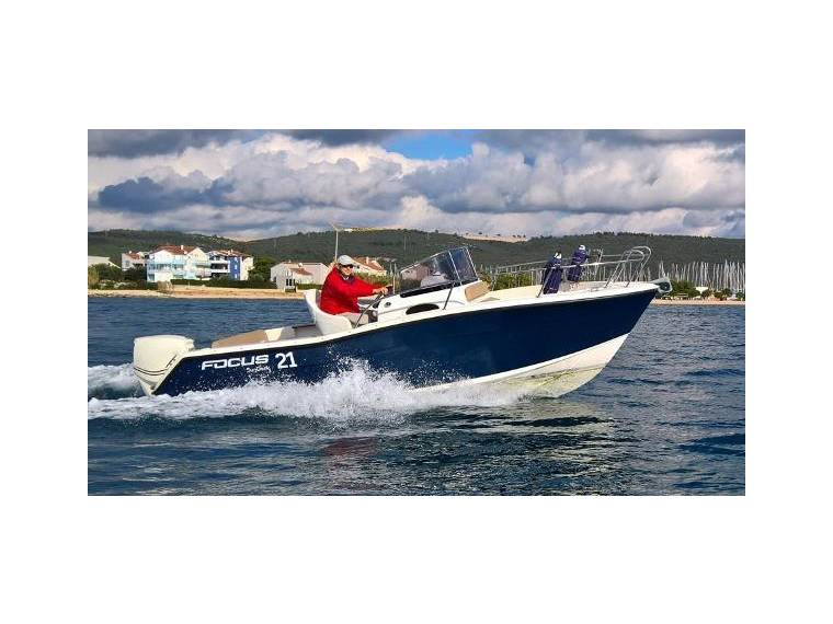 Focus Motor Yachts SUNDECK 21 new for sale 97975 | New Boats