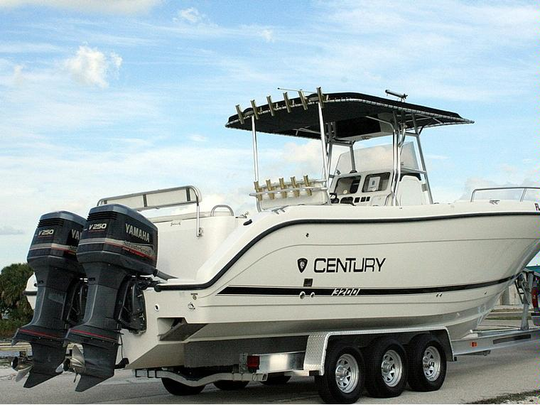 2001 century 3200cc in florida power boats used 66575 for Century motors of south florida