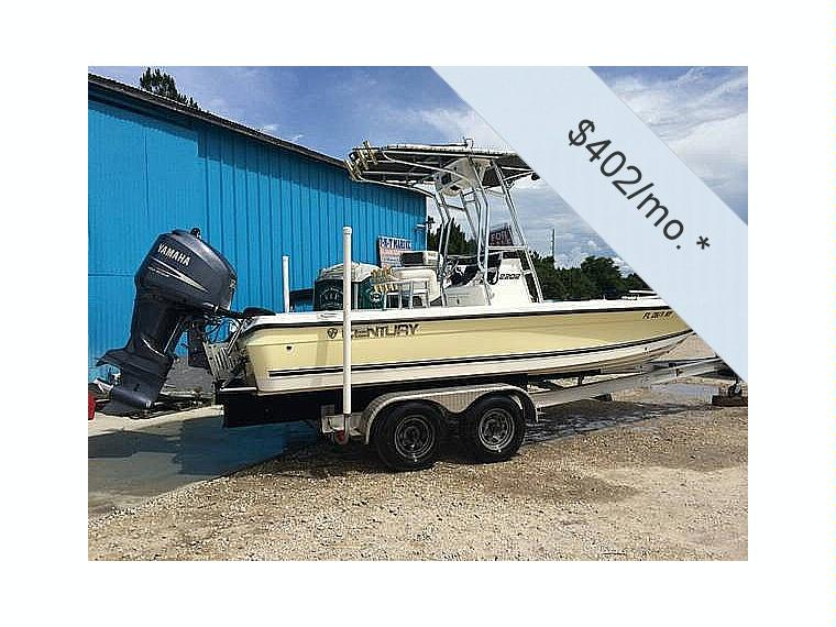 Century 2202 inshore in florida power boats used 25210 for Century motors of south florida