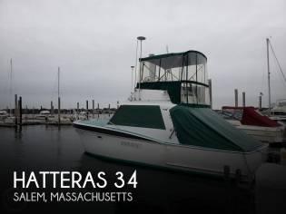 Hatteras 34