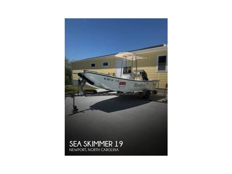 Sea Skimmer 19 Skiff in Florida | Open boats used 48495