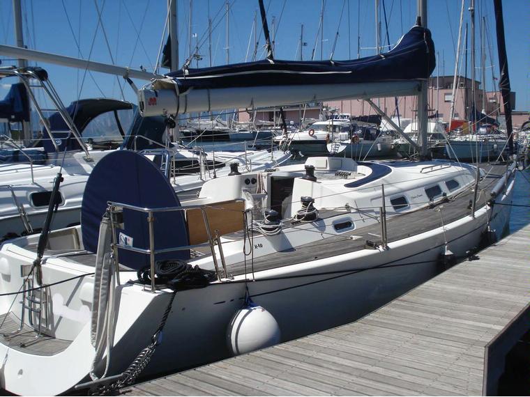 x yachts 40 modern in sardinia
