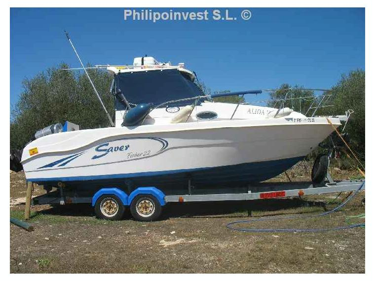 Saver Cabin Fisher 22 In Cn El Arenal Day Fishing Boats