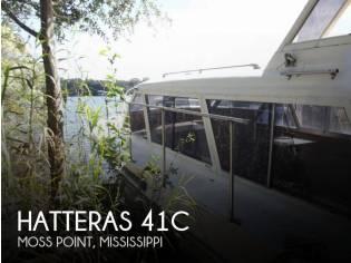 Hatteras 41C