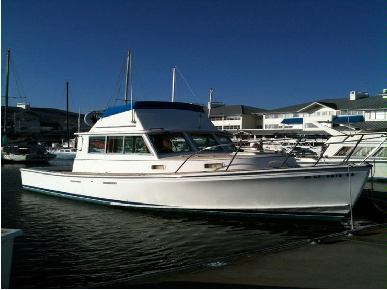 Cape Dory 28 Trawler In California Power Boats Used