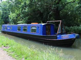 Kingsground 51' Hybrid Narrowboat