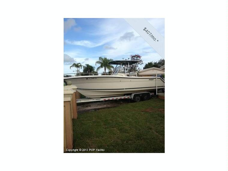 Pursuit 2670 cuddy in florida power boats used 75399 for 2670 5