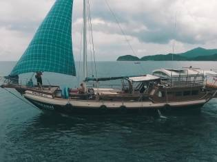 Traditional Wooden Yacht