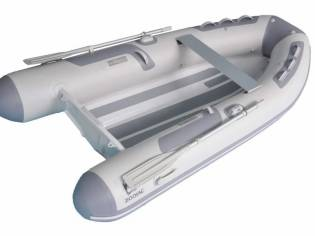 Zodiac Cadet 360 RIB Alu DL Tender AluminiumRumpf