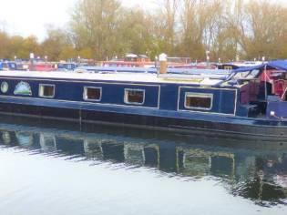 Wide Beam Narrowboat Collingwood Emperor 60 x 12