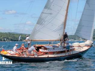 Custom Francis S Kinney/Walsted Sloop