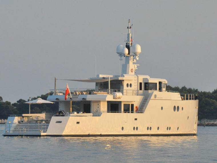 Tansu 119ft Custom Expedition Motor Yacht In Tuscany