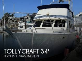 Tollycraft 34 Convertible Sedan