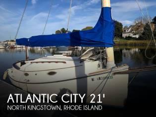 Atlantic City 21 Catboat