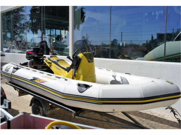 Zodiac Sport in M  de Portimão | Rigid inflatable boats used