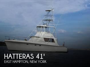 Hatteras 41' Convertible