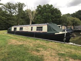 Narrowboat 40' Cruiser Stern