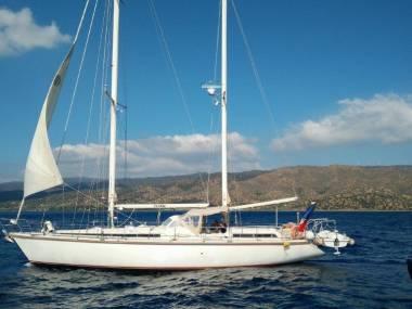 Amel Super Maramu in Argolis   Sailing cruisers used 51506