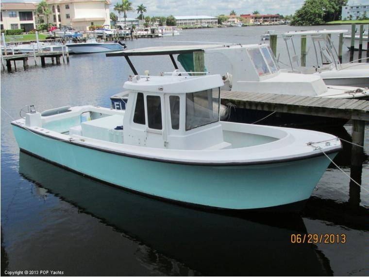Shamrock 26 pilothouse in florida power boats used 50501 for Pilot house fishing boats