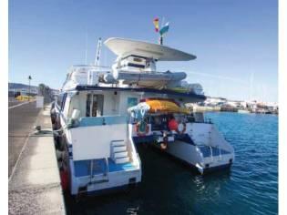 Catamaran Passenger Cruiser