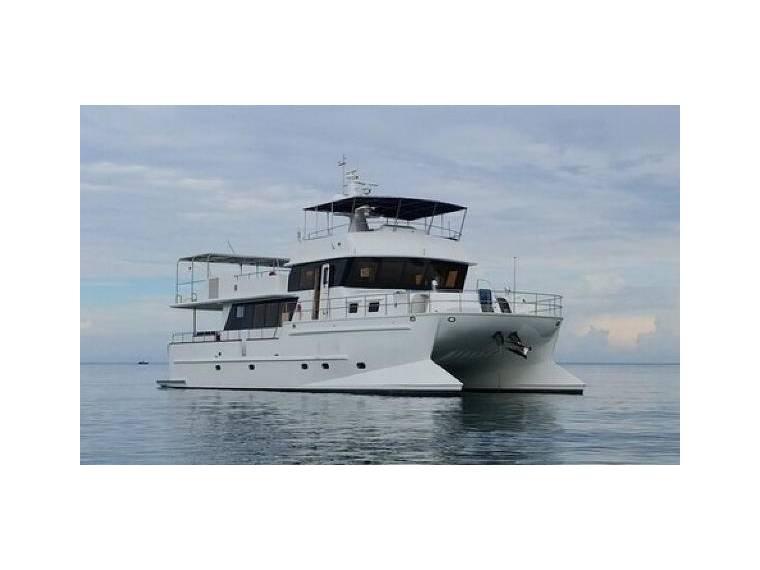Trawler 67' Canadian Design Power Cat in Hong Kong | Power
