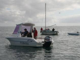Janmor boat 583 timonier