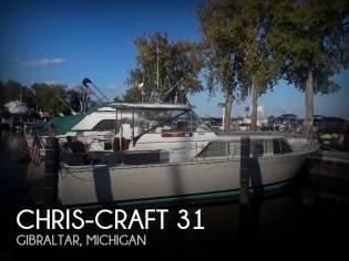 Chris-Craft 31 Commander