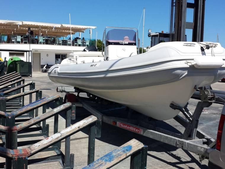Mar co 22 in marina cala d or inflatable boats used 52505 inautia - Meilleur semi rigide 5m ...