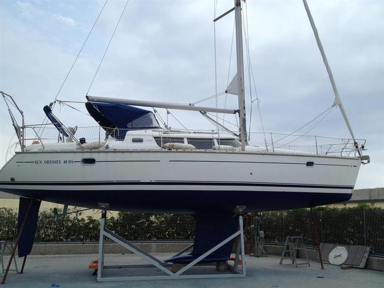 Jeanneau Sun Odyssey 40 Ds In Liguria Sailing Yachts Used 55514