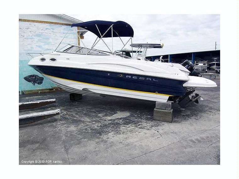 Regal Cuddy Cabin 2650 Lsc In Florida Power Boats Used