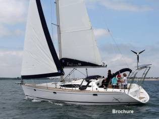 Feeling Yachts Feeling 39 Lifting Keel in Saône-et-Loire | Sailing