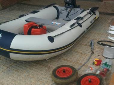 Yamaha 280 STi in Barcelona | Inflatable boats used 70515