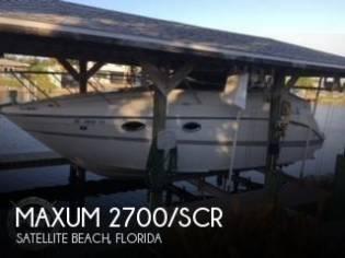 Maxum 2700/SCR