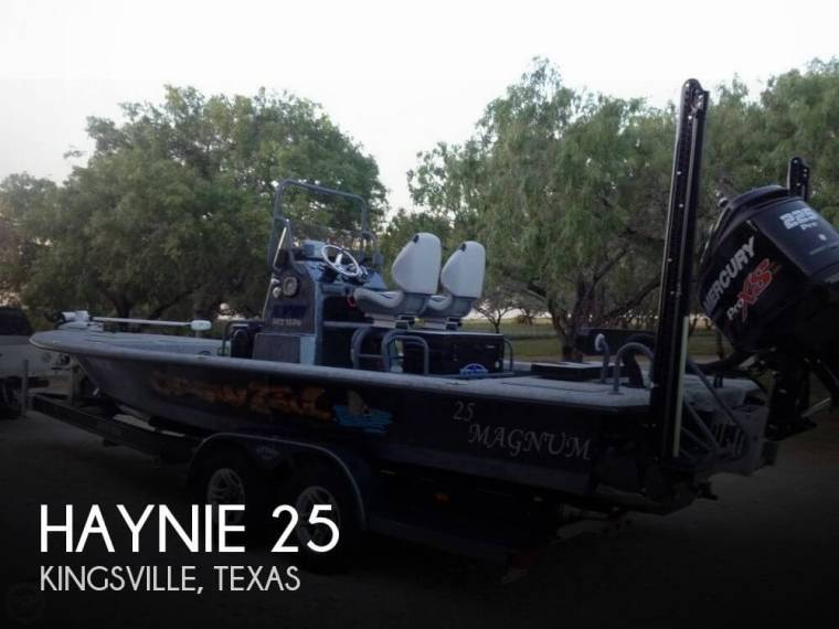 Haynie 25 Magnum in Florida | Open boats used 01102 - iNautia