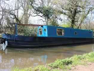 Narrowboat 41' Brummagem Boats Brum Tug