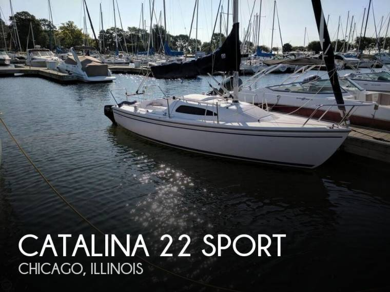 Catalina 22 Sport in Florida   Day fishing boats used 00989