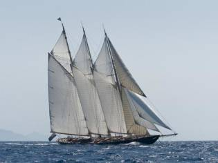 Custom Van der Graff gaff schooner