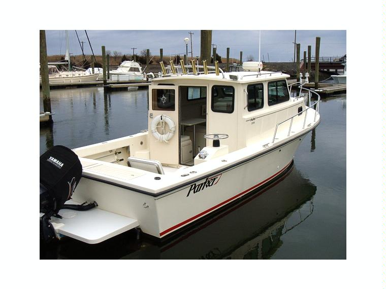 Parker 2530 Deep V in New Jersey | Power boats used 99101 ...