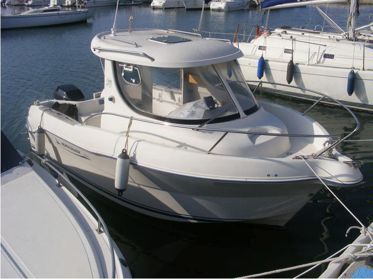 quicksilver 580 pilothouse in barcelona