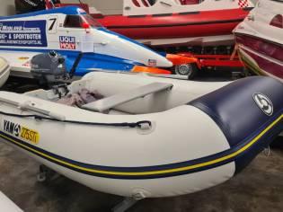 Yam 275 STi met Yamaha F4