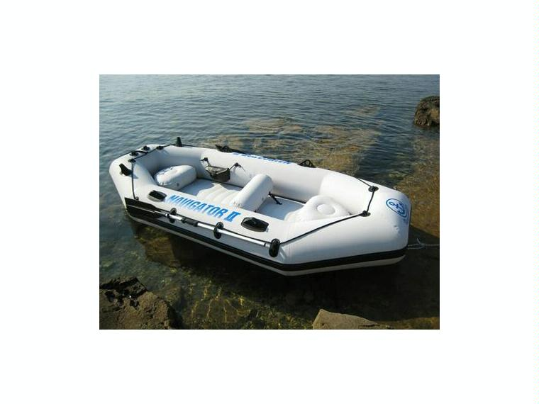 navigator ii 400 in corunna inflatable boats used 53566. Black Bedroom Furniture Sets. Home Design Ideas